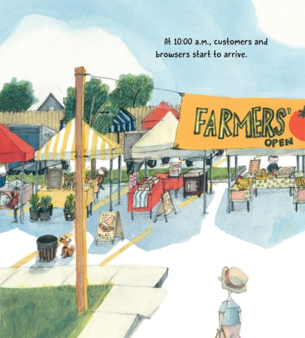 celebrate-picture-books-picture-book-review-on-the-farm-at-the-market-customers