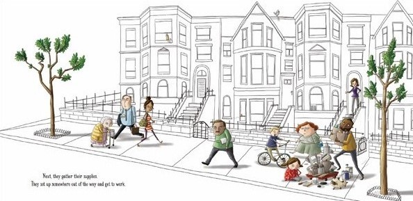 celebrate-picture-books-picture-book-review-the-most-magnificent-thing-neighbors-come-by