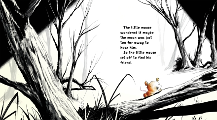 celebrate-picture-books-picture-book-review-the-mouse-and-the moon-mouse-goes-to-find-moon