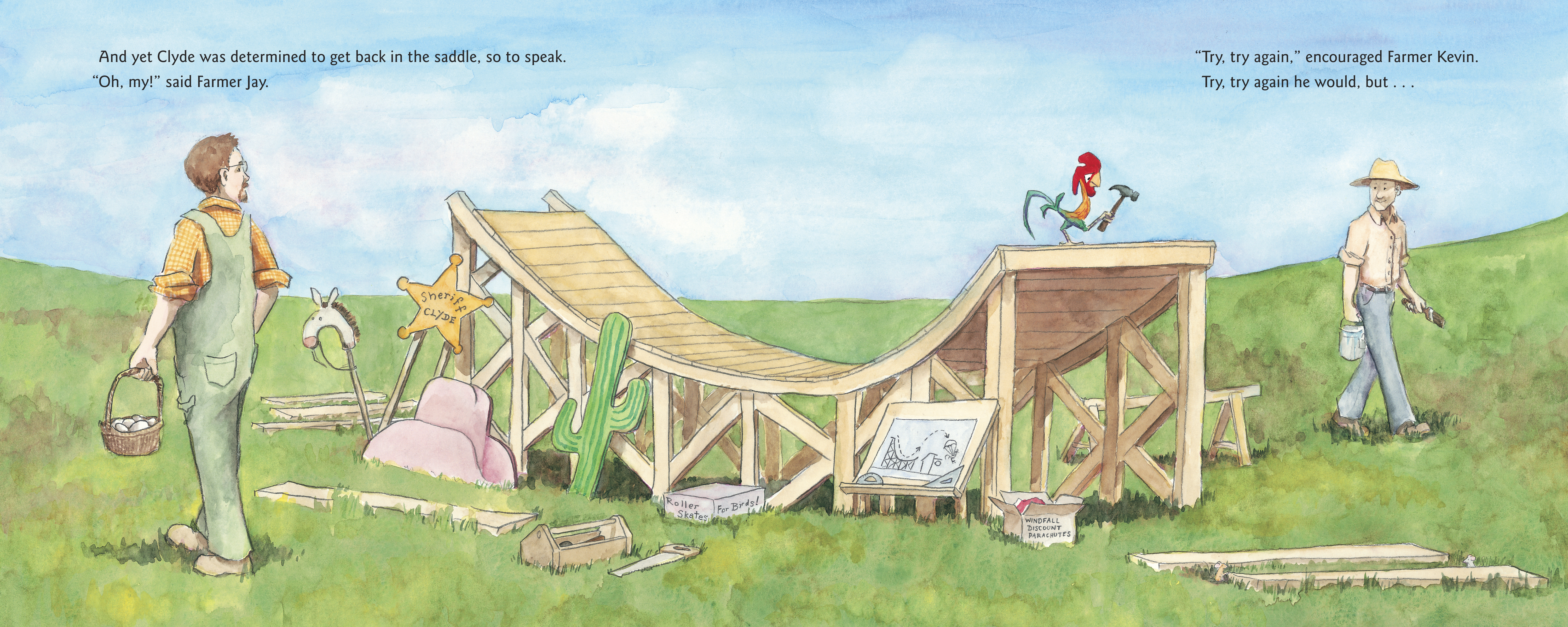 celebrate-picture-books-picture-book-review-a-crow-of-his-own-skating-ramp