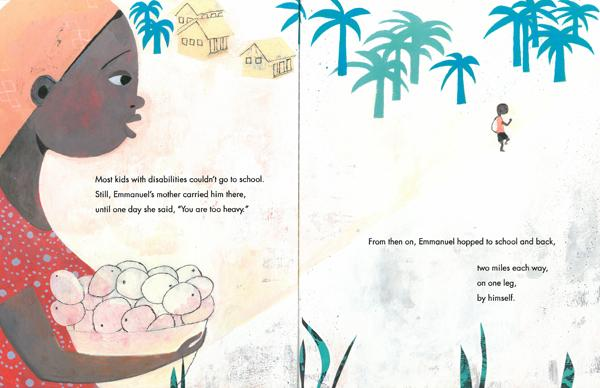 celebrate-picture-books-picture-book-review-emmanuel's-dream-going-to-school