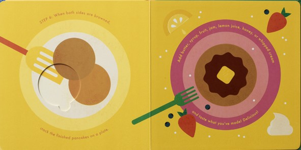 celebrate-picture-books-picture-book-review-pancakes-an-interactive-recipe-book-on-plate