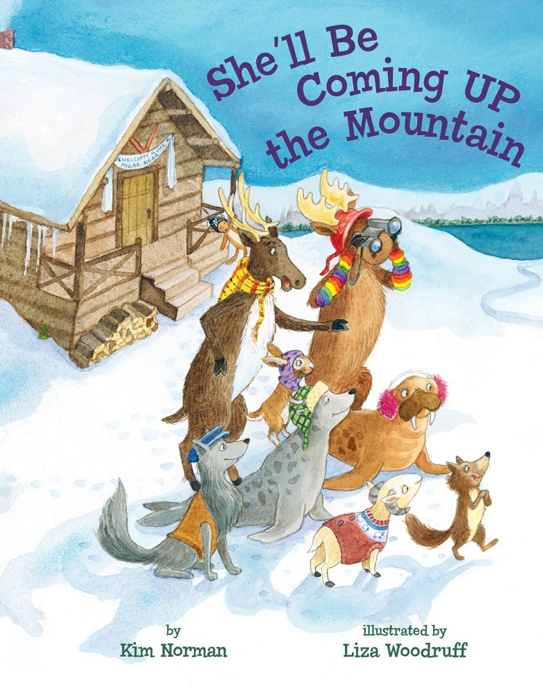 celebrate-picture-books-picture-book-review-she'll-be-coming-up-the-mountain-cover