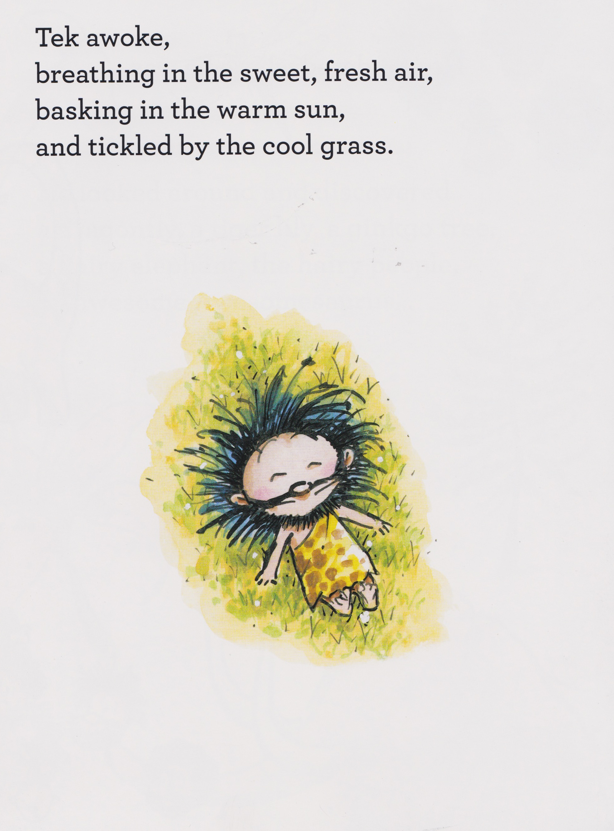 celebrate-picture-books-picture-book-review-tek-the-modern-cave-boy-sweet-fresh-air