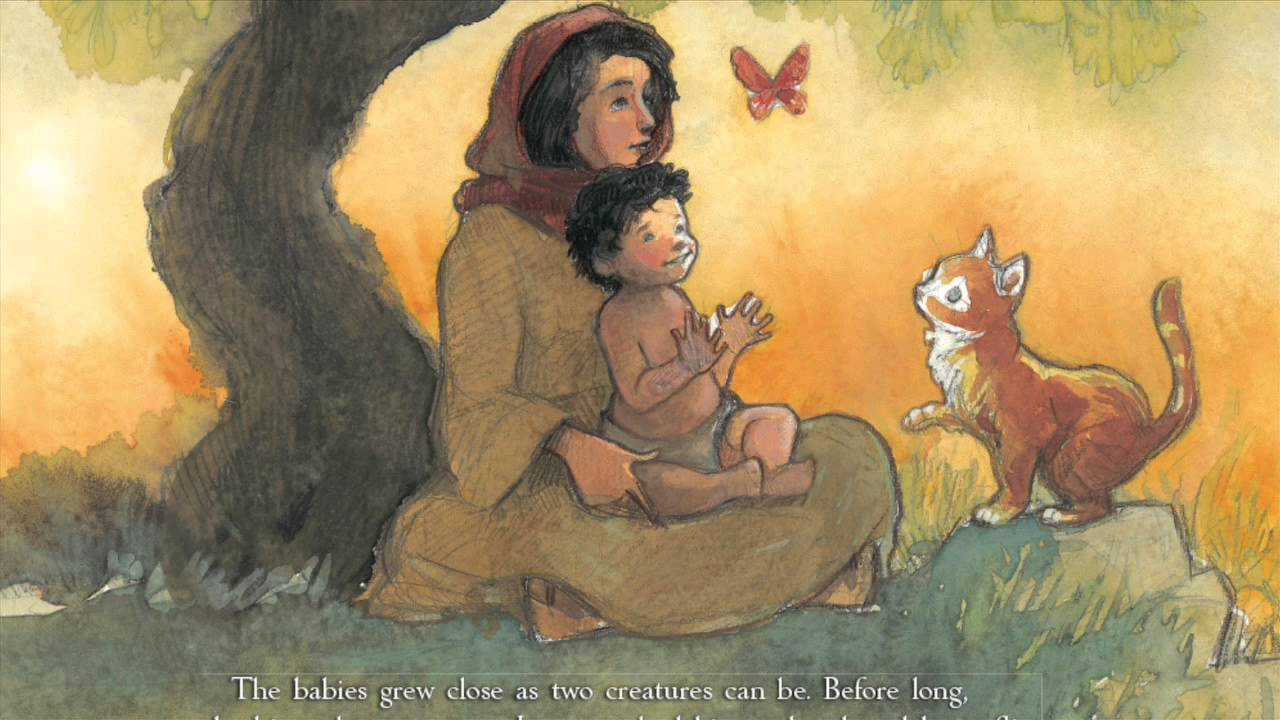 celebrate-picture-books-picture-book-review-the-christmas-cat-and-jesus-playing