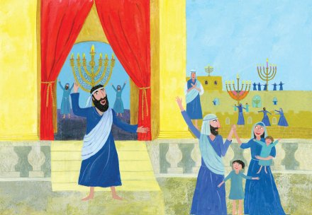 celebrate-picture-books-picture-book-review-the-story-of-hanukkah-celebrating-restored-temple