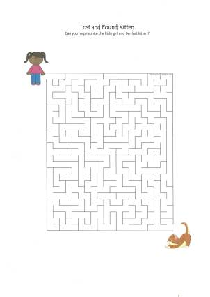 celebrate-picture-books-picture-book-review-lost-and-found-kitten-maze