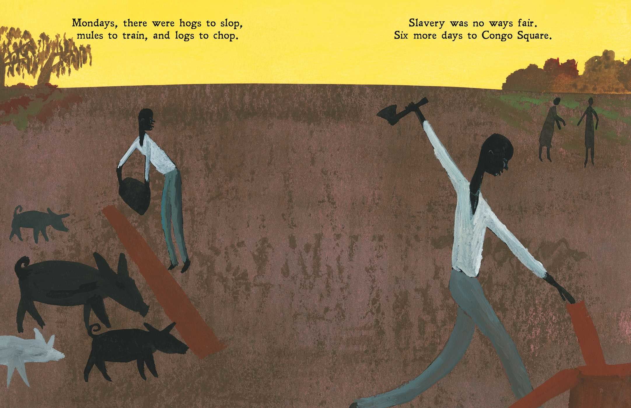 celebrate-picture-books-picture-book-review-freedom-in-congo-square-monday