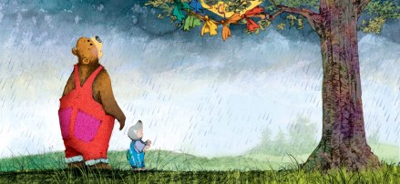 celebrate-picture-books-picture-book-review-kite-day-a-bear-and-mole-story-kite-in-tree