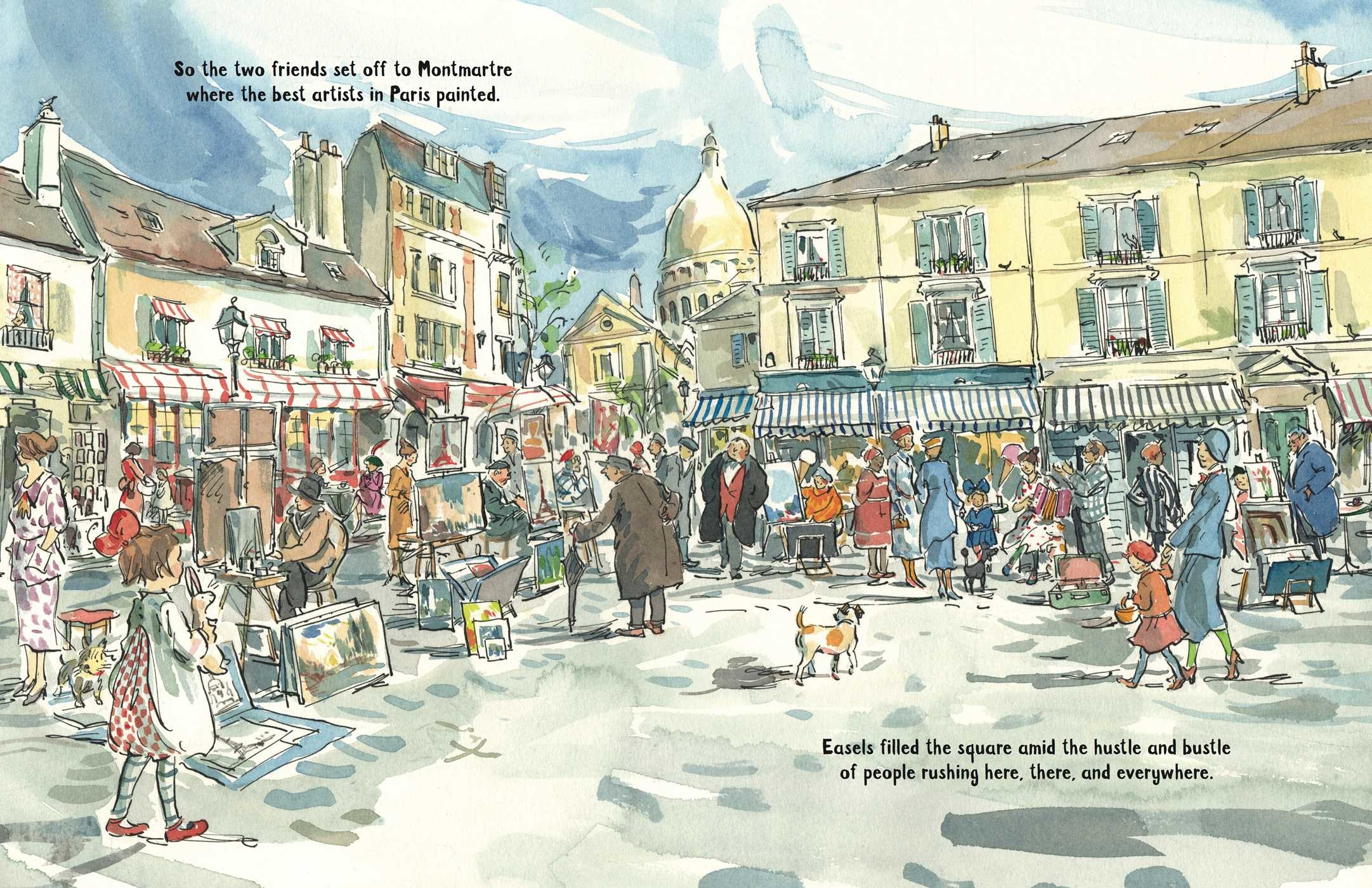 celebrate-picture-books-picture-book-review-painting-pepette-pepette-at-montmartre