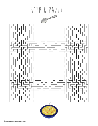 celebrate-picture-books-picture-book-review-souper-maze