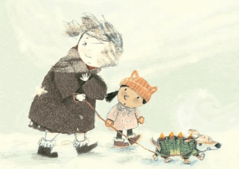 celebrate-picture-books-picture-book-review-a-hat-for-mrs-goldman-snow