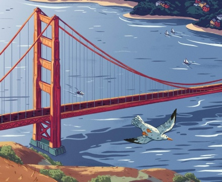 celebrate-picture-books-picture-book-review-here-to-there-and-me-to-you-golden-gate-bridge