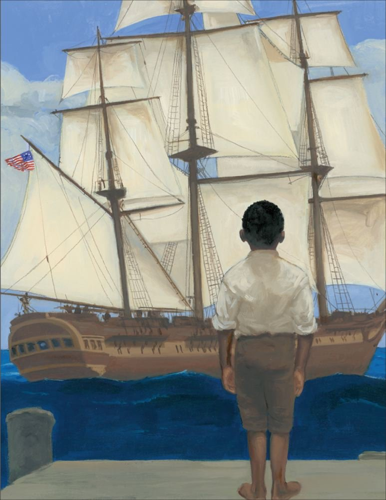 celebrate-picture-books-picture-book-review-words-set-me-free-the-story-of-young-frederick-douglas-tall-ship