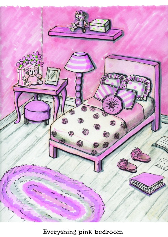 celebrate-picture-books-picture-book-review-anything-but-pink-starri's-pink-bedroom