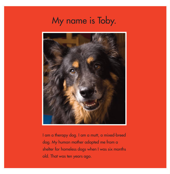 celebrate-picture-books-picture-book-review-toby-and-Tutter-therapy-dogs-toby