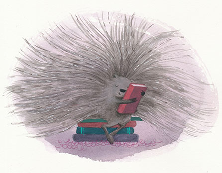 celebrate-picture-books-picture-book-review-bunny's-book-club-porcupine-hugs-book