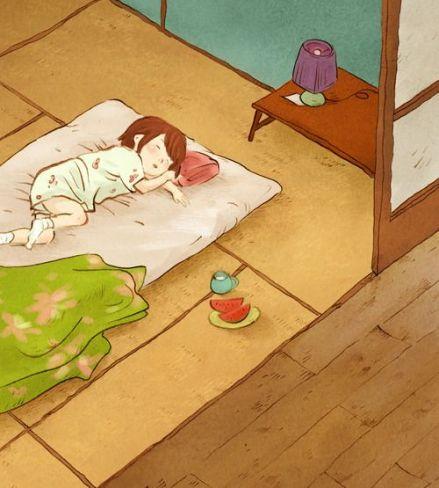 celebrate-picture-books-picture-book-review-hana-hashimoto-sixth-violin-hana-sleeping