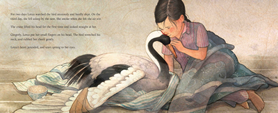 celebrate-picture-books-picture-book-review-lotus-and-feather-lotus-comforts-feather