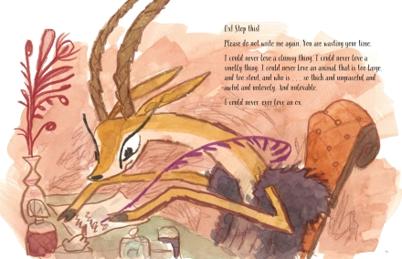 celebrate-picture-books-picture-book-review-xo-ox-a-love-story-gazelle-asks-ox-to-stop