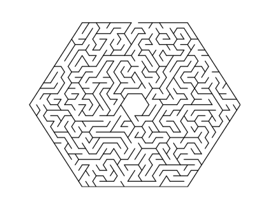 celebrate-picture-books-picture-book-review-hexagonal-maze