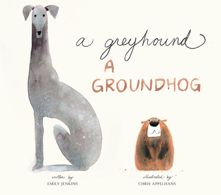 celebrate-picture-books-picture-book-review-a-greyhound-a-groundhog-cover