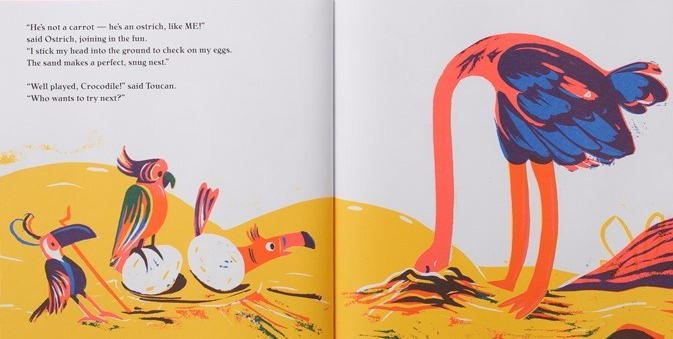 celebrate-picture-books-picture-book-review-are-you-a-monkey-ostrich-head-in-sand