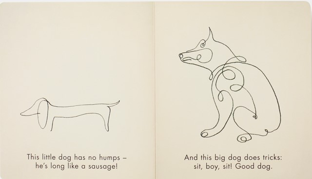 celebrate-picture-books-picture-book-review-birds-&-other-animals-with-pablo-picasso-dogs