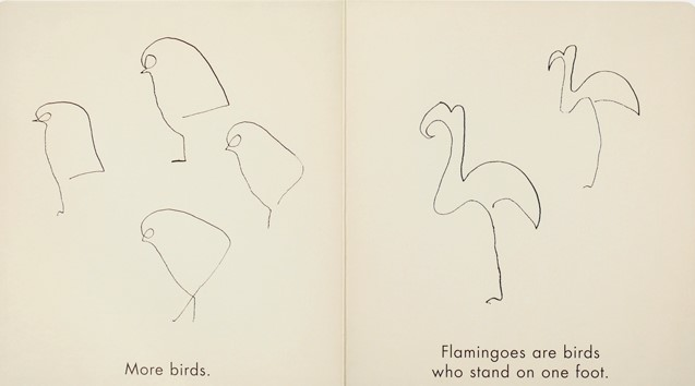 celebrate-picture-books-picture-book-review-birds-&-other-animals-with-pablo-picasso-flamingo