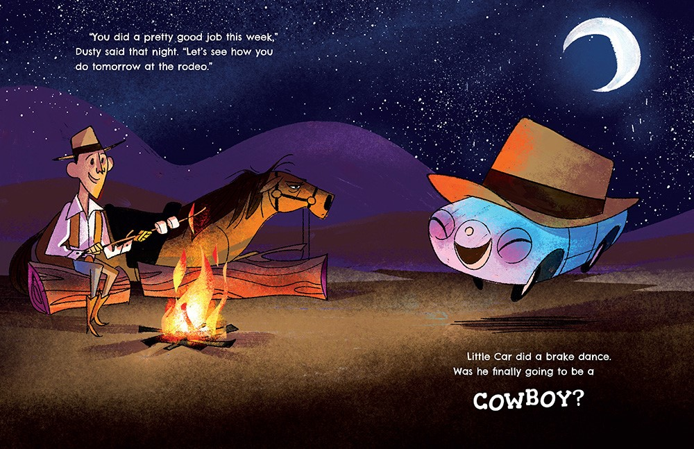 celebrate-picture-books-picture-book-review-car-cowboy-hay-bales