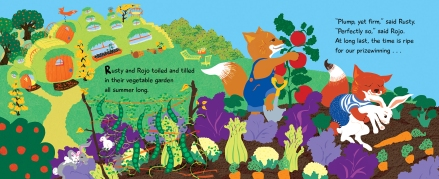 celebrate-picture-books-picture-book-review-rabbit-stew-picking-veggies