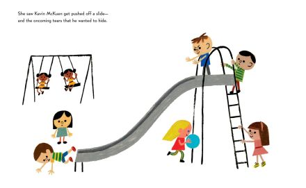 celebrate-picture-books-picture-book-review-the-smallest-girl-in-the-smallest-grade-slide