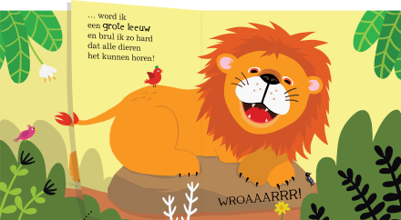 celebrate-picture-books-picture-book-review-when-I-Grow-Up-lion-adult