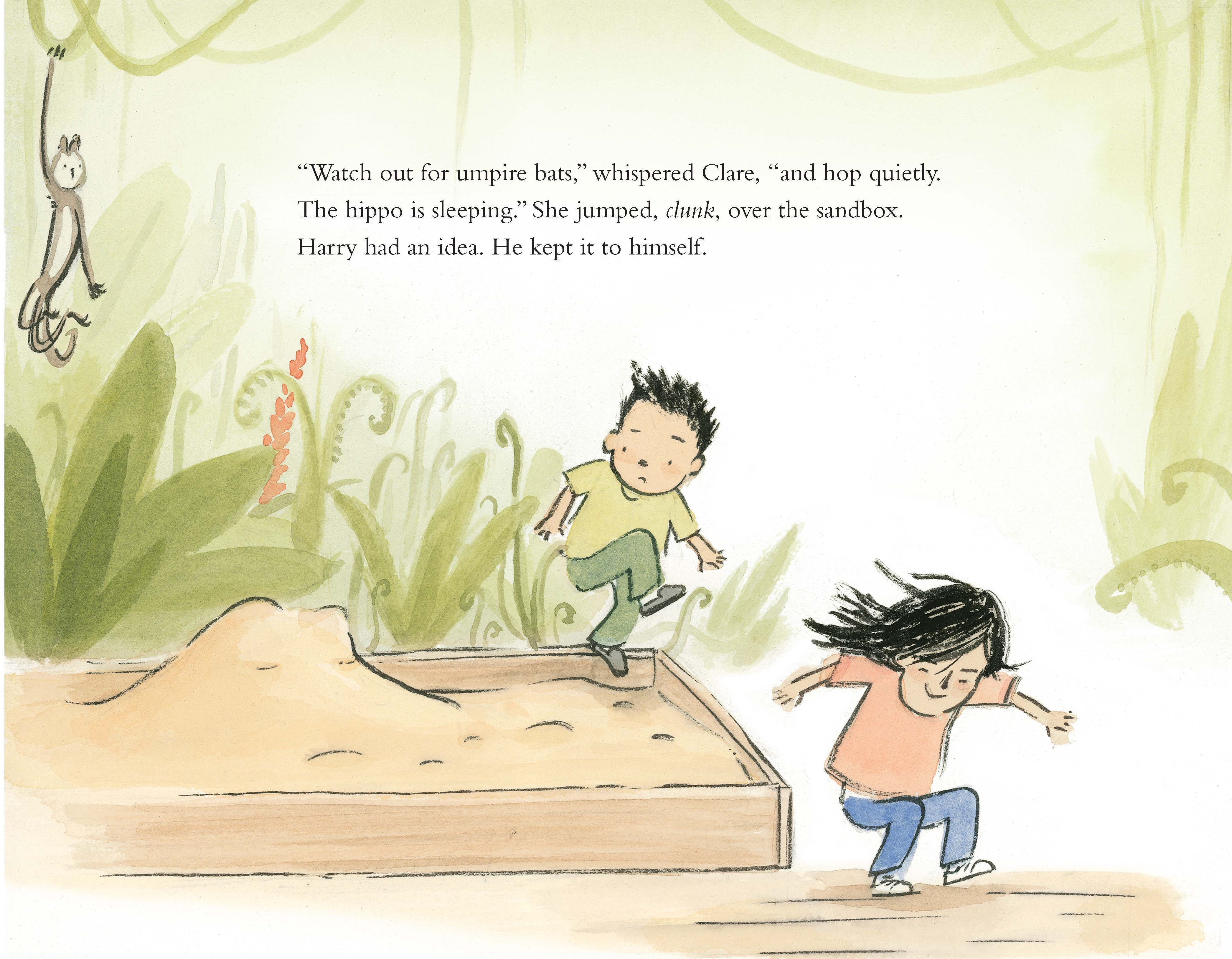 celebrate-picture-books-picture-book-review-harry-and-clare's-amazing-staycation-hippo