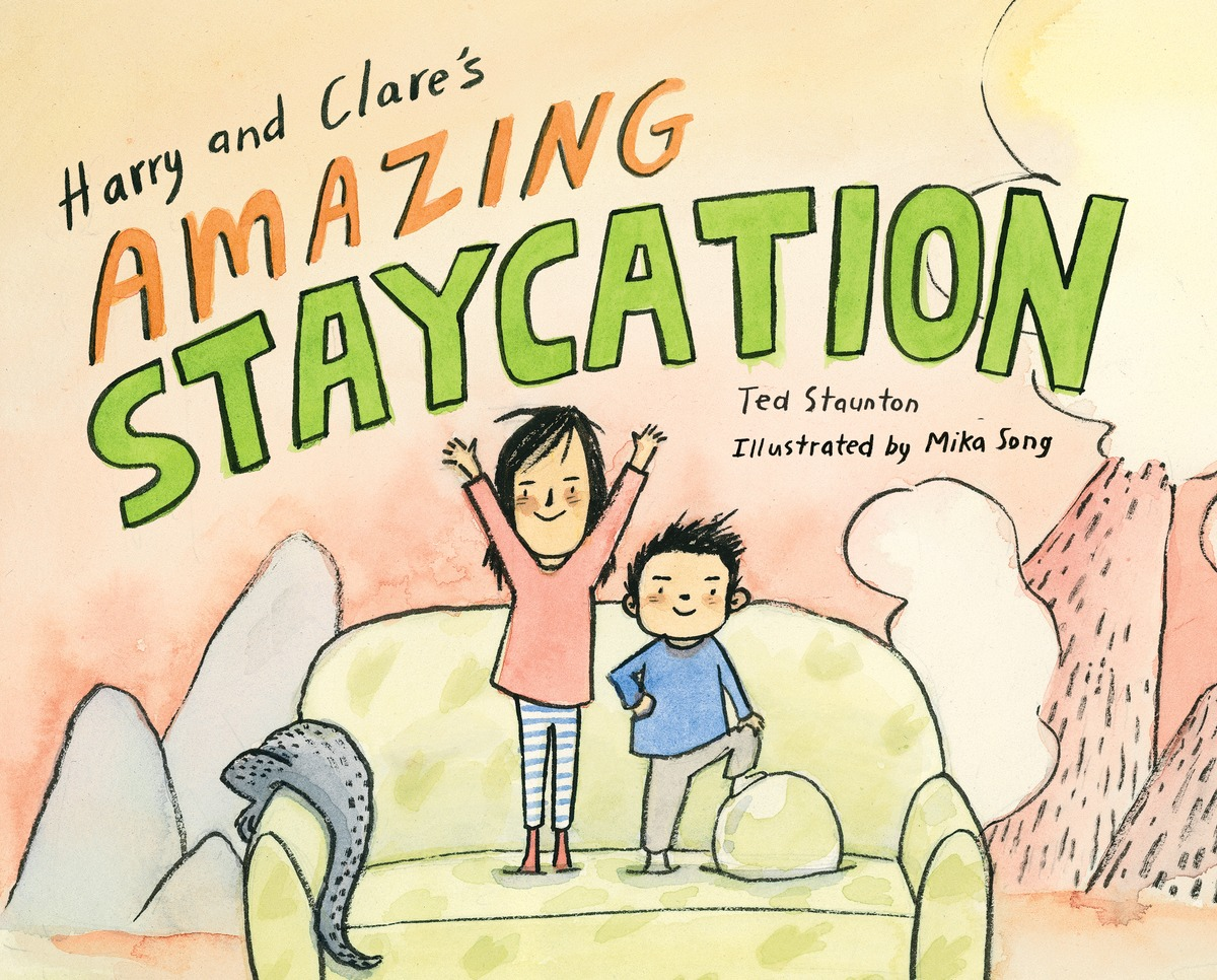 celebrate-picture-books-picture-book-review-harry-and-clare's-amazing-staycation-cover