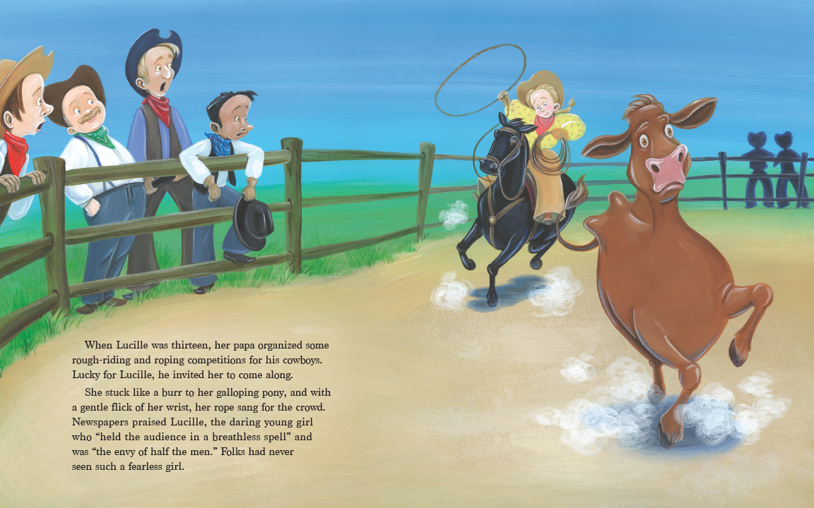 celebrate-picture-books-picture-book-review-the-original-cowgirl-lassoing-cow