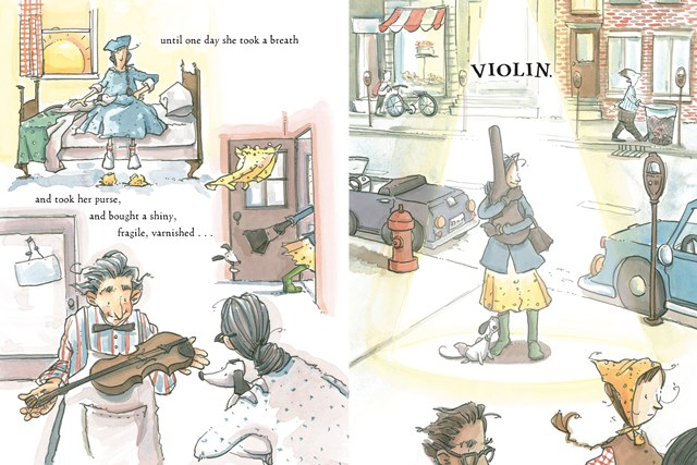 celebrate-picture-books-picture-book-review-a-violin-for-elva-buys-violin