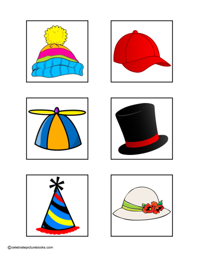 celebrate-picture-books-picture-book-review-hat-matching-game