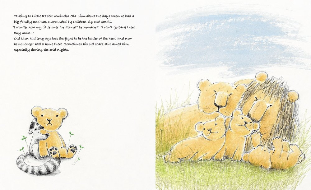 celebrate-picture-books-picture-book-review-old-lion-and-little-rabbit-herd