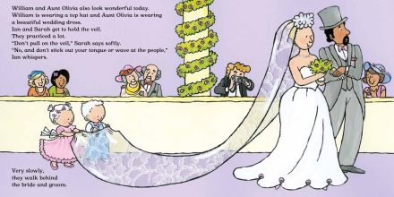 celebrate-picture-books-picture-book-review-sarah-at-the-wedding-down-the-aisle