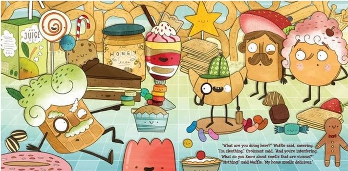 celebrate-picture-books-picture-book-review-the-case-of-the-stinky-stench-von-waffle