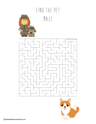 celebrate-picture-books-picture-book-review-find-the-pet-maze