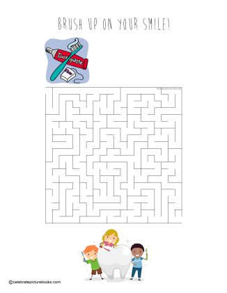 celebrate-picture-books-picture-books-review-brush-up-on-your-smile-maze