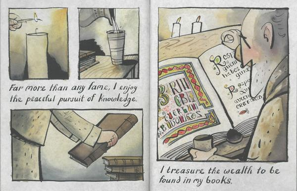 celebrate-pciture-books-picture-book-review-The-White-Cat-and-the-Monk-books
