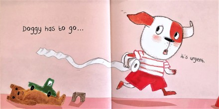 celebrate-picture-books-picture-book-review-I've-gotta-go-doggy-has-to-go