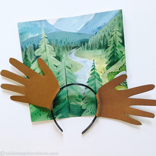 celebrate-picture-books-picture-book-review-hand-print-moose-antlers-headband