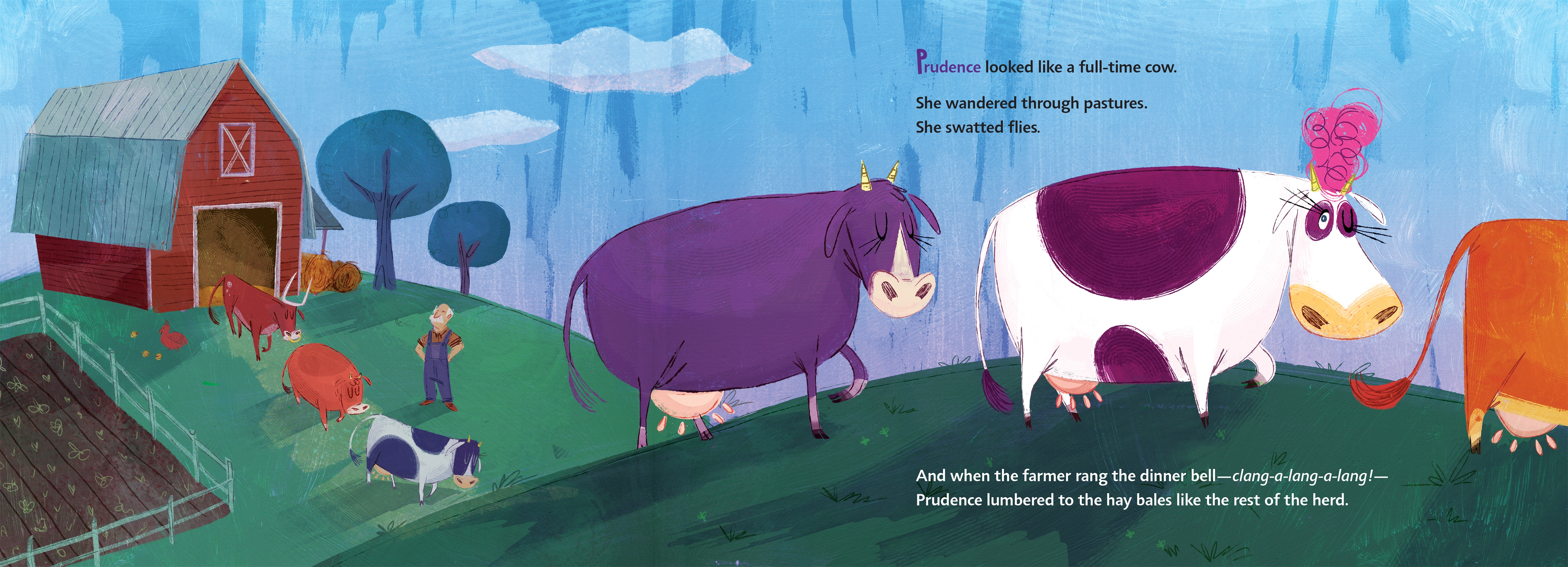 celebrate-picture-books-pciture-book-review-prudence-the-part-time-cow-farm