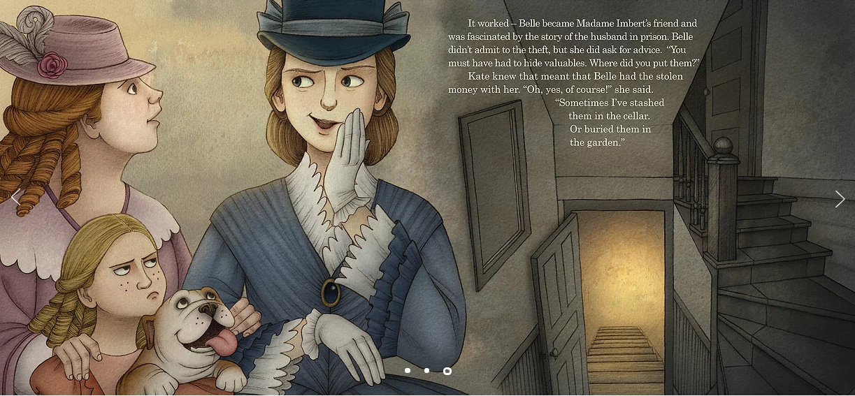 celebrate-picture-books-picture-book-review-Kate-Warne-pinkerton-detective-belle