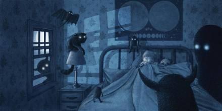 celebrate-picture-books-picture-book-review-the-darkest-dark-sleeping