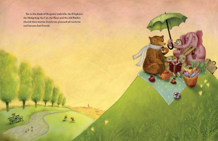celebrate-picture-books-picture-book-review-the-green-umbrella-friends